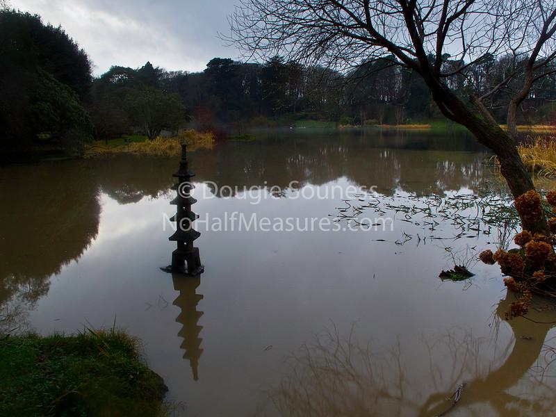 'Mount Stewart House Lake'<br /> 30 December 2011<br /> Nr Newtownards, County Down, Northern Ireland