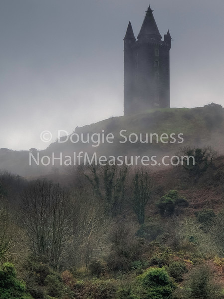 'Tower in the Mist'<br /> 30 December 2011<br /> - Scrabo tower memorial built in 1857 over 500 feet above sea level.<br /> Newtownards, County Down, Northern Ireland