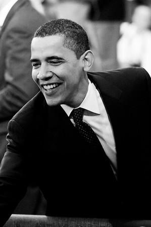 Barack Obama at rally in Claremont New Hampshire  at Stevens High School 01-07-08 Valerie Goodloe