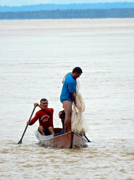 Amazon River Fishermen