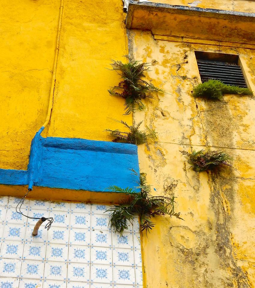 Crumbling, Santos, Brazil