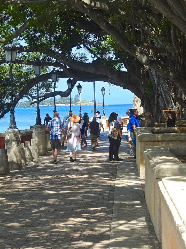 Waterside Walkway, San Juan Puerto Rico