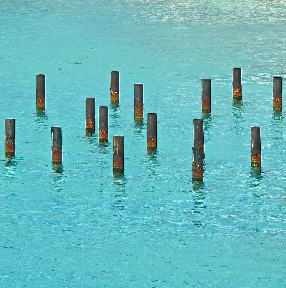 Bonaire Pilings
