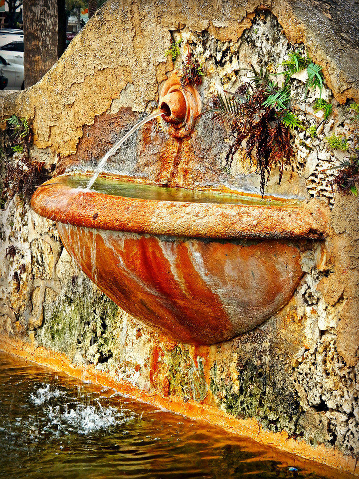 Coral Gables Fountain
