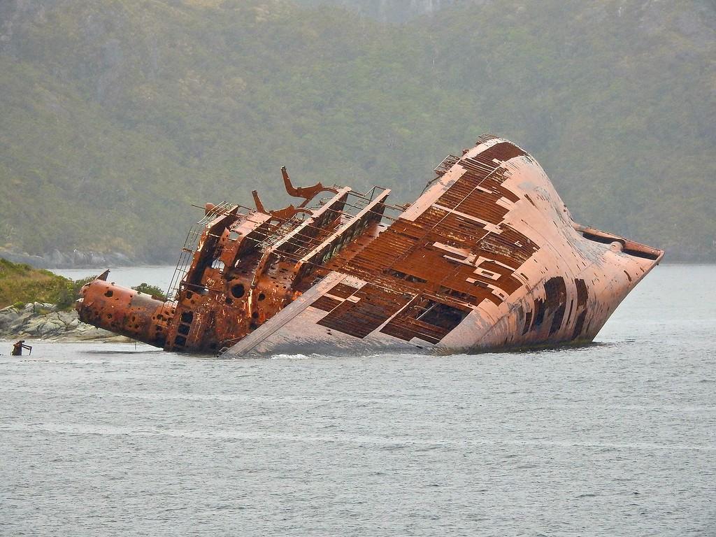 Wreck of the Santa Leonor, Chile
