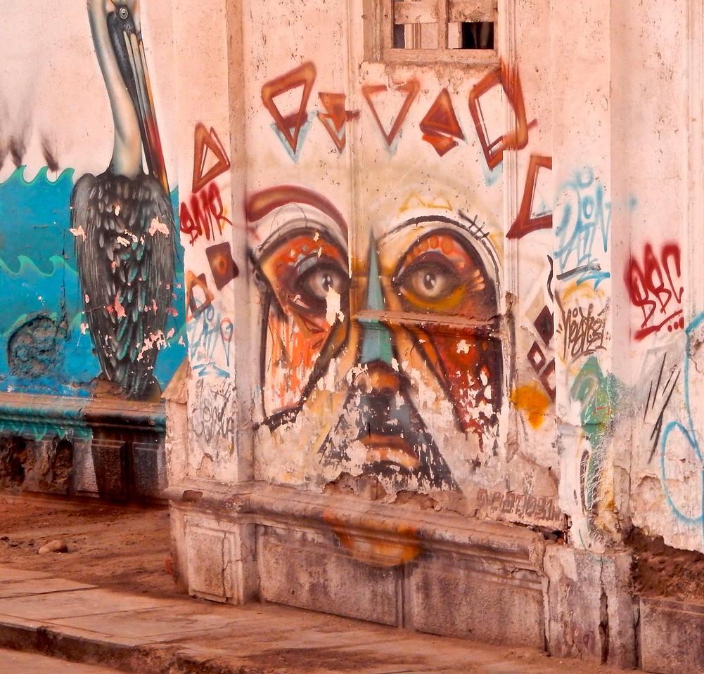 Peruvian Graffitti