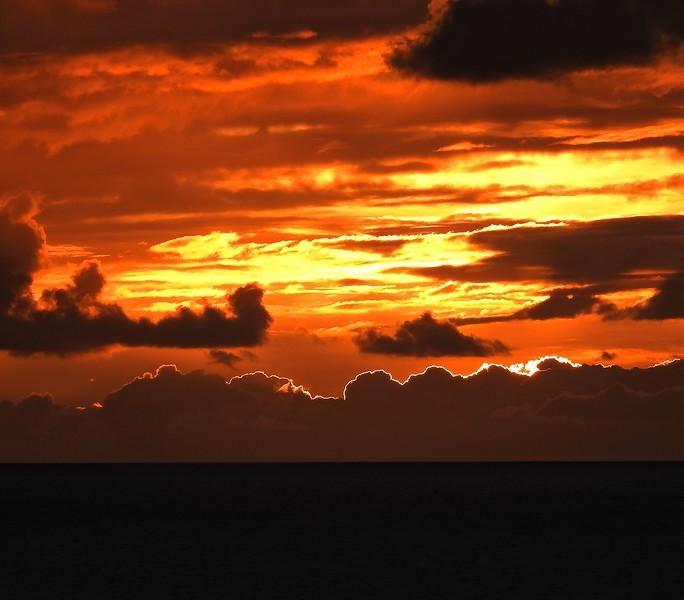 Martinique Sunset