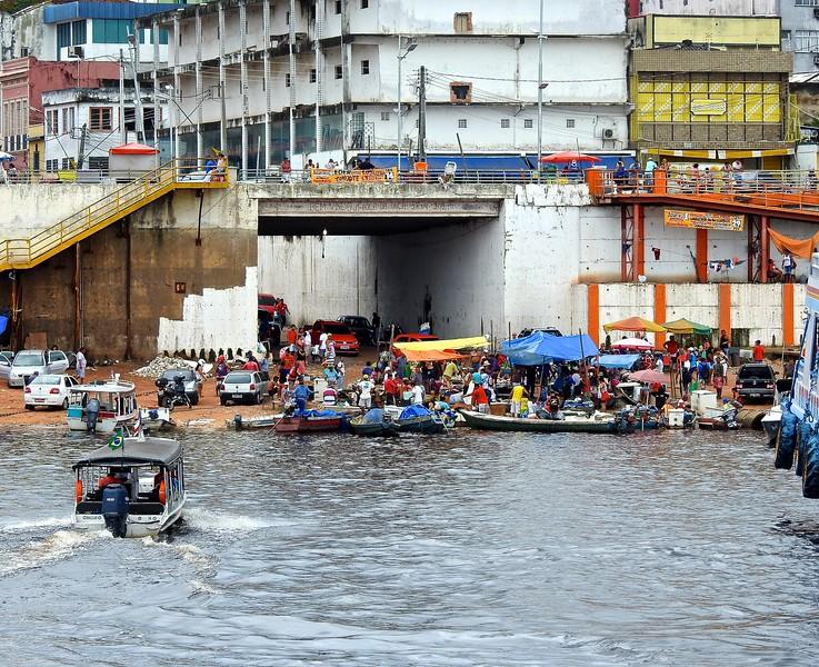 Manaus Market, Amazon River, Brazil