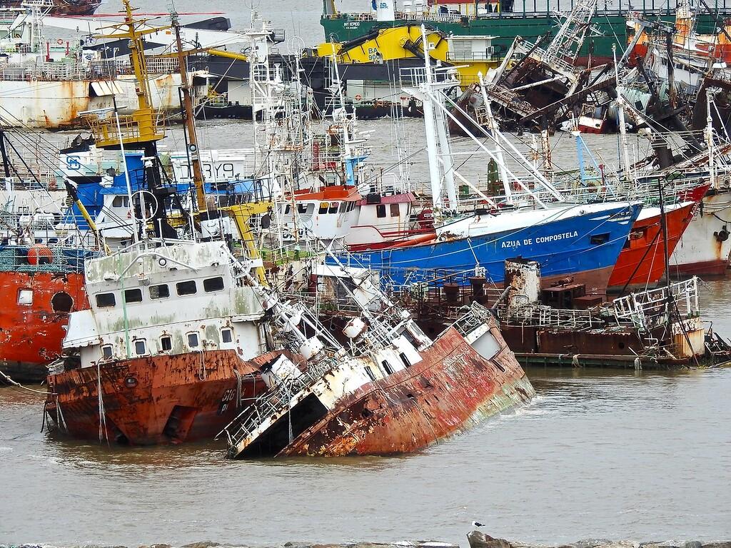 Ships' Graveyard, Montevideo, Uruguay
