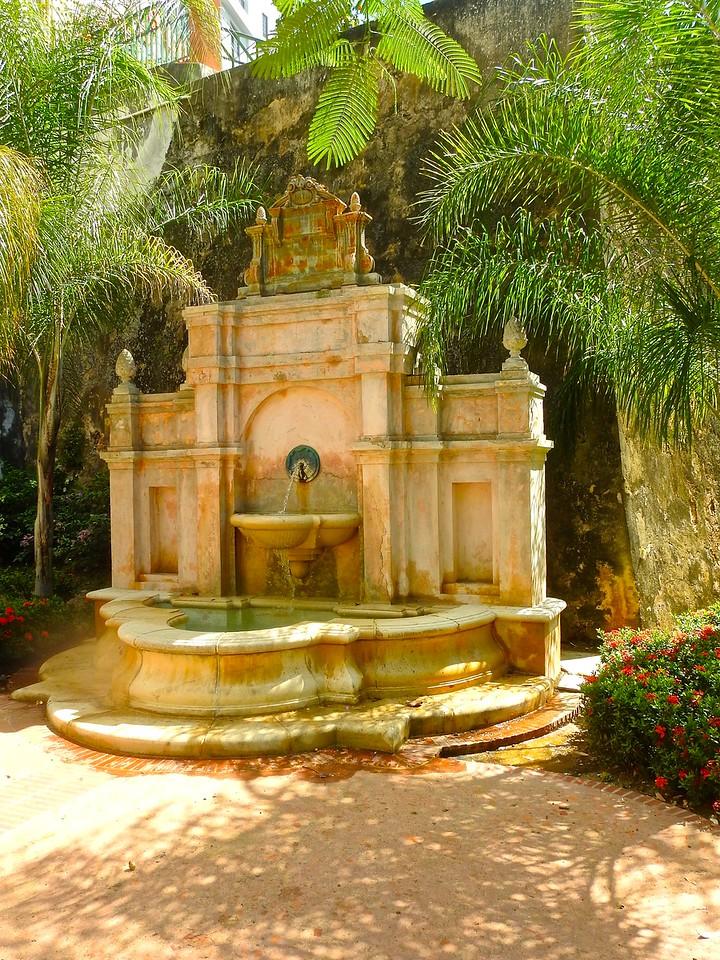 San Juan Fountain, Puerto Rico