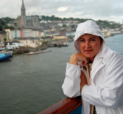 DEPARTING COBH, IRELAND, THE LAST STOP FOR THE TITANIC BEFORE THE ICEBERG