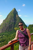 AT THE PITONS, ST. LUCIA