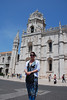 ENTERING THE MONASTERY OF JERONIMOS, BELEM, LISBOA