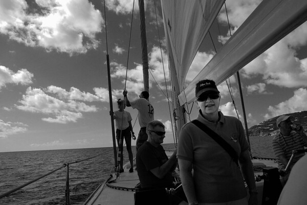 AN AFTERNOON ON TRUE NORTH, CHALLENGING STARS AND STRIPES, ST. MAARTEN