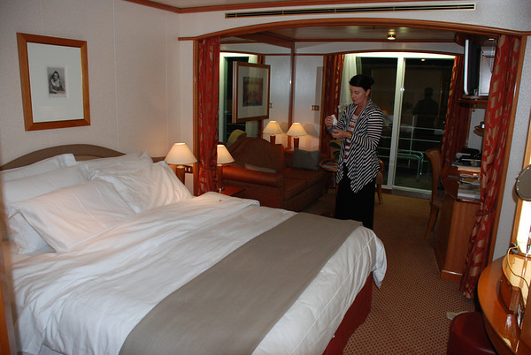 CABIN ON SILVERSEA CRUISES