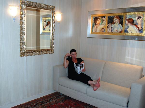DRAWING ROOM AT LIASIDI PALACE, VENEZIA
