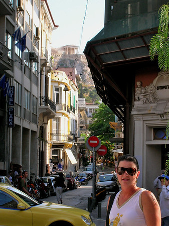 THE PLAKA IN ATHENS