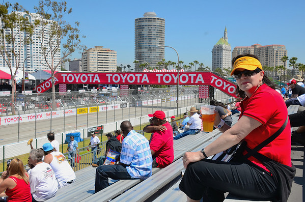 FRIDAY MORNING BEERS AT THE LONG BEACH GRAND PRIX