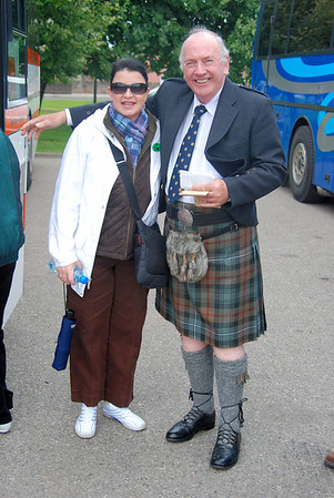 YES, THAT'S THE WAY THEY DRESS IN SCOTLAND
