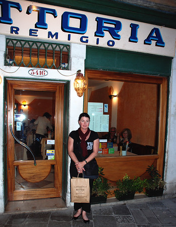 REMIGIO IN VENICE, RECOMMENDED BY OUR NEW FRIEND IN TRIESTE.