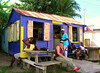 VIC'S BAR ON MARKET STREET, CHARLESTOWN, NEVIS