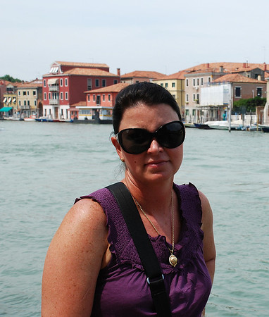 CANAL WALKING IN MURANO, ITALY