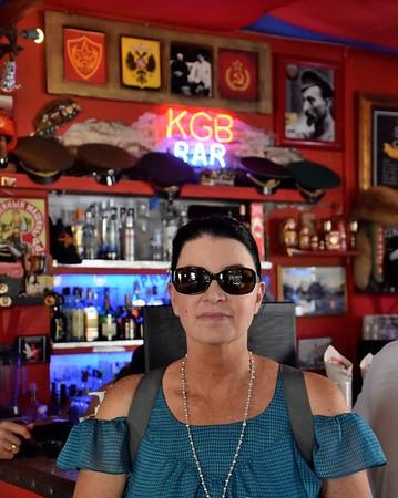 KGB BAR CATREGENA, COLOMBIA
