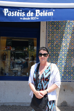 JUST ENJOYED THE FAMOUS PASTRIES AT BELEM, LISBON, PORTUGAL