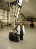 Under the Nose Wheel of Concorde