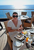 BREAKFAST ON BOARD THE SILVER SPIRIT AT CABO SAN LUCAS