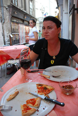 AFTERNOON SNACK IN TRIESTE, ITALY