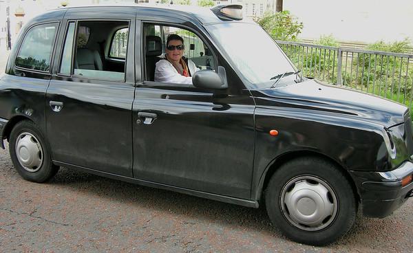 DRIVING EDDIE SPENSER'S CAB IN LIVERPOOL