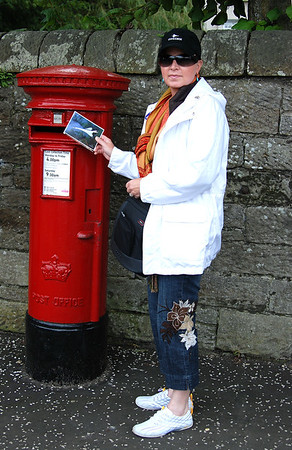 MAIL TO OURSELVES FROM EDINBURG, SCOTLAND