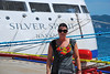 BOARDING THE SILVER SPIRIT IN ACAPULCO