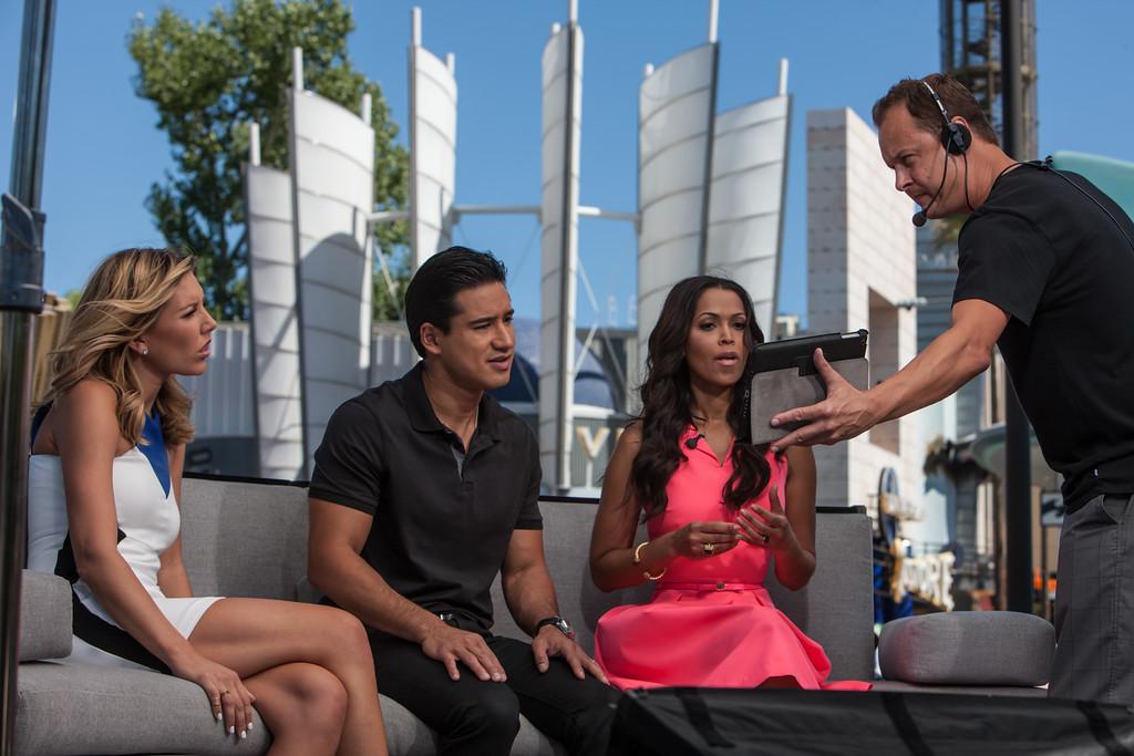 EXTRA TV UNIVERSAL STUDIOS CALIFORNIA
