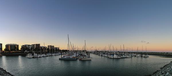 160730 1740 - The Mackay Marina.
