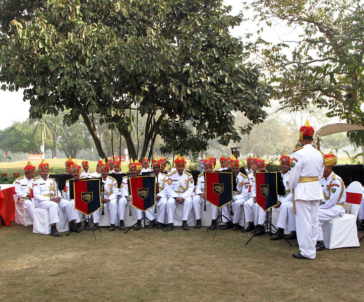 Kolkata 'marching' band entertains Royal Tournament guests