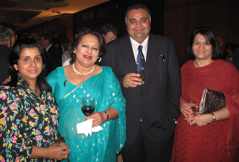 Binny Mehra Royal Montreal with other guests at Royals banquet