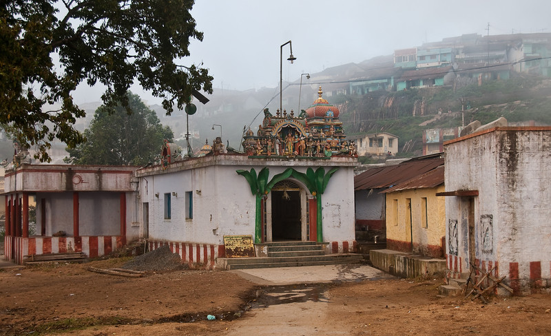 The Kuzhandai Velappar Temple, located at the bottom of a hillslope Kodaikanal. A tribal villaged surrounded by many terraces. <br />  <br /> We got a tour from the Hindu priest, he proudly said it's existence is over 3000 years old.