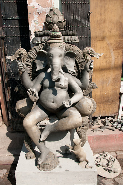 Ganesh the elephant God. God of prosperity and good luck.