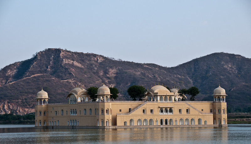 The Jal Mahal - (Lake Palace)<br /> <br /> This palace is between Amber and Jaipur. It was built by Sawai Madho Singh I.