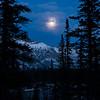 Moon Rise in Jasper