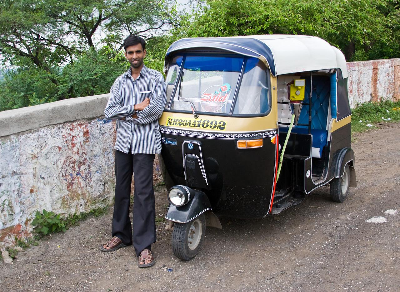 Rickshaw Driver.