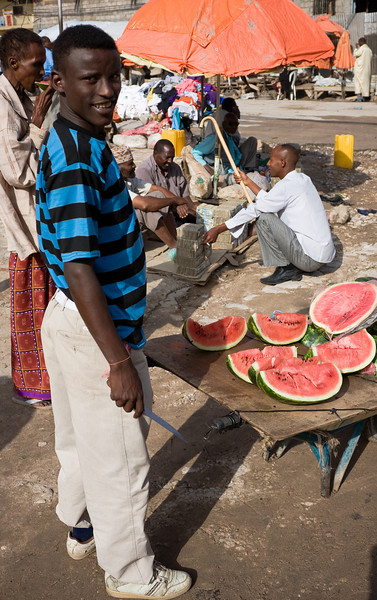 Watermelon Seller.