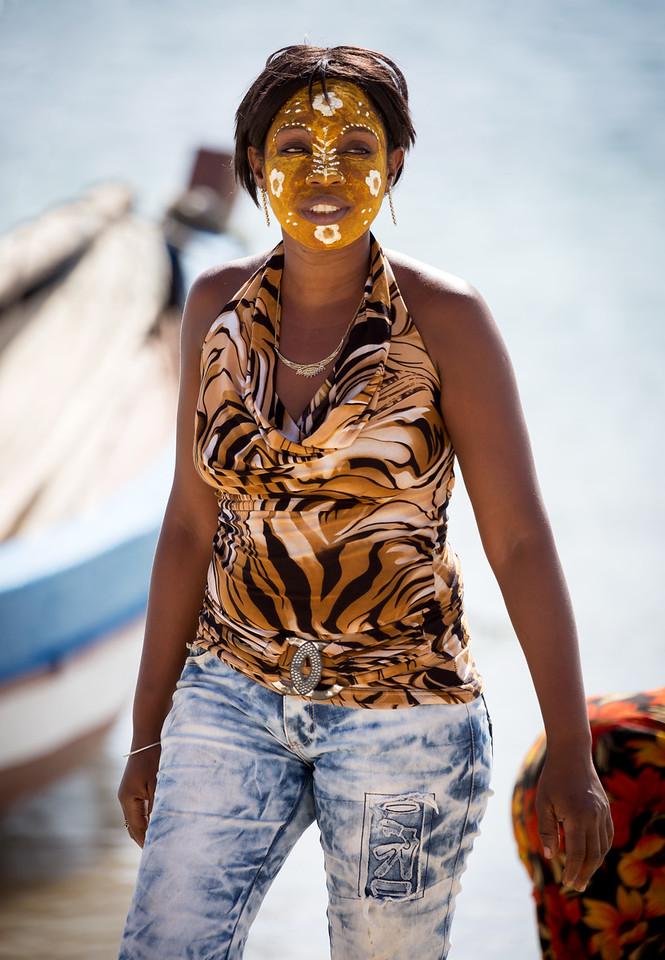 Modern Malagasy woman.