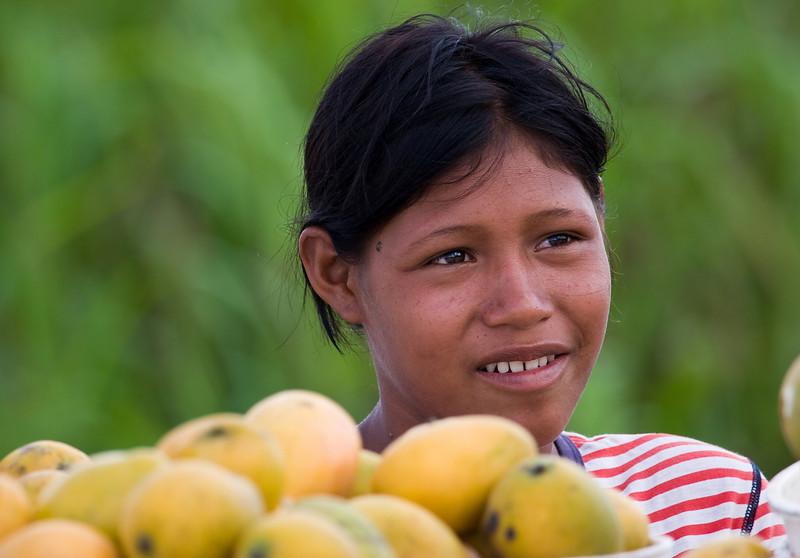 Mango seller.