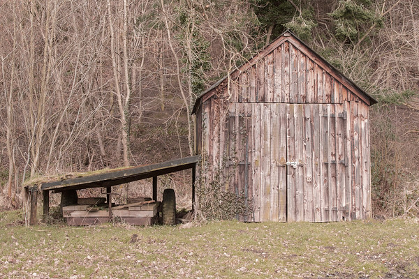THE WOOD SHED NO 2