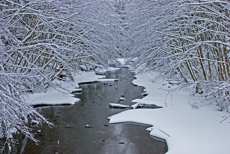 Indian River Snow