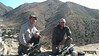 Glen and Josh and the end of the class on the long range platform with their LRK Mechanical rifles.