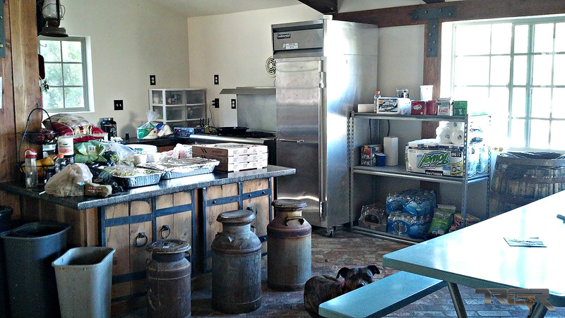We always had a very well-stocked kitchen and plenty of cold water.